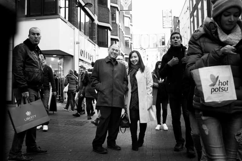 couple in Carnaby street