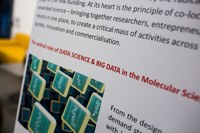 "Poster contains words ""Data Science and Big Data"""