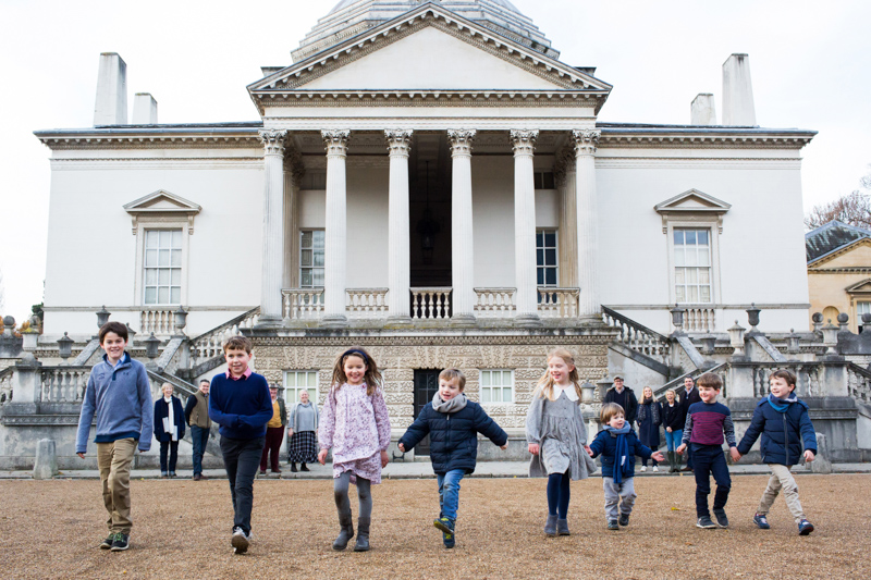 Chiswick House Family Portrait