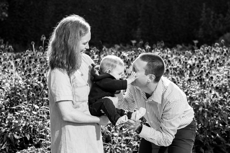fun family photograph