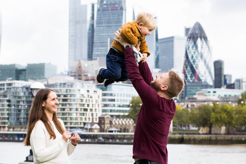 City of London family photoshoot